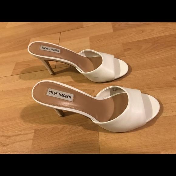 steve madden erin sandal white